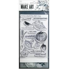Wendy Vecchi Make Art Stamp Die & Stencil Set - Autumn Greetings