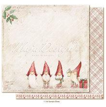 Maja Design Traditional Christmas 12X12 - Santas Elves