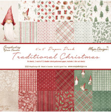 Maja Design 6x6 Paper Pack - Traditional Christmas