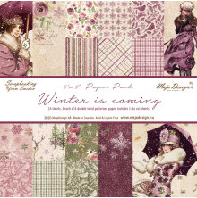 Maja Design 6x6 Paper Pack - Winter is coming