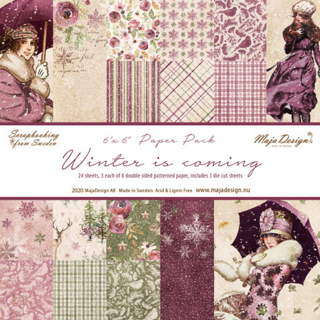 Maja Design 6x6 Paper Pack - Winter is coming