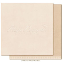 Maja Design Monochromes 12X12 Shades of Winter - Warm white