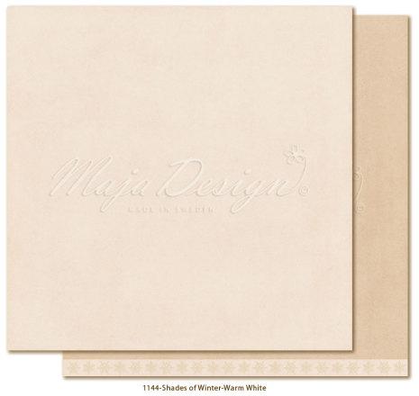 Maja Design Monochromes 12X12 Shades of Winter - Warm white