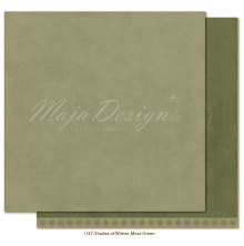 Maja Design Monochromes 12X12 Shades of Winter - Moss green