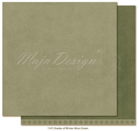 Maja Design Monochromes 12X12 Shades of Winter - Moss green