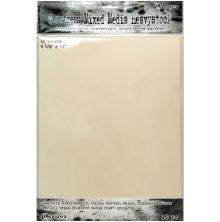 Tim Holtz Distress Mixed Media Heavystock 8.5X11 10/Pkg - Creme