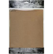 Tim Holtz Distress Mixed Media Heavystock 8.5X11 10/Pkg - Kraft