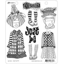 Dylusions Cling Stamps 8.5X7 - Just Be