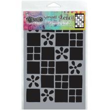 Dylusions Stencil 5X8 - Square Dance