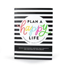 Happy Planner Book - Stephanie Fleming Plan A Happy Life