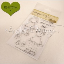 hÄnglar & Wings Clear Stamps - Ful Jultröja