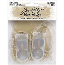 Tim Holtz Idea-Ology Battery Operated Wire Light Strands 2/Pkg