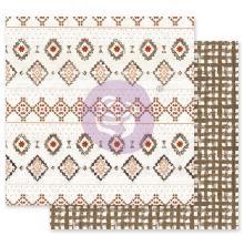 Prima Golden Desert Cardstock 12X12 - Rugs On Rugs
