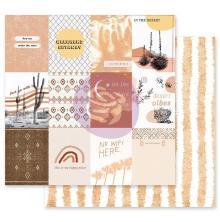 Prima Golden Desert Cardstock 12X12 - Just Go With It
