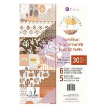 Prima Double-Sided Paper Pad A4 30/Pkg - Golden Desert