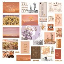 Prima Cardstock Ephemera 30/Pkg - Golden Desert
