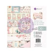 Prima Double-Sided Paper Pad 8X8 30/Pkg - With Love By Frank Garcia