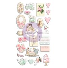 Prima Puffy Stickers 26/Pkg - With Love By Frank Garcia