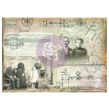 Prima Finnabair Tissue Paper - Science Lover