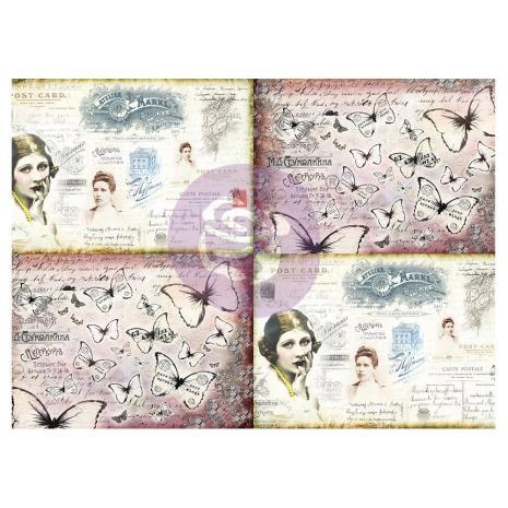 Prima Finnabair Tissue Paper - Ladies World