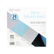 Tonic Studios Craft Perfect 6x6 Card Packs - White Wonderland 9403E