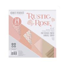 Tonic Studios Craft Perfect 6x6 Paper Packs - Rustic Rose 9382E