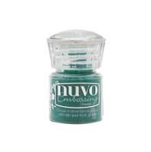 Tonic Studios Nuvo Embossing Powder - Glimmering Green 593N