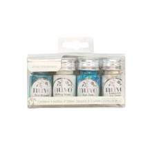 Tonic Studios Nuvo Pure Sheen 4 Pack - White Wonderland 308N