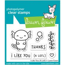 Lawn Fawn Clear Stamps 3X2 - I Like You (A lotl)