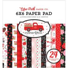 Echo Park Double-Sided Paper Pad 6X6 - Cupid & Co