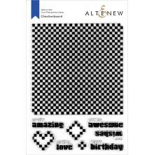 Altenew Clear Stamps 6X8 - Checkerboard
