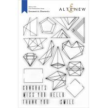 Altenew Clear Stamps 6X8 - Geometric Elements