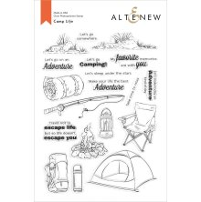 Altenew Clear Stamps 6X8 - Camp Life