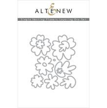 Altenew Die Set - Simple Nesting Flowers