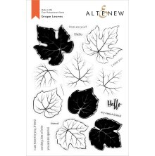 Altenew Clear Stamps 6X8 - Grape Leaves