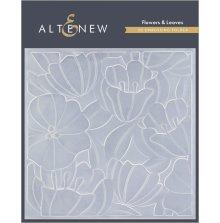 Altenew Embossing Folder - Flowers & Leaves 3D