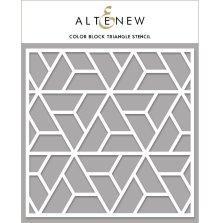 Altenew Stencil 6X6 - Color Block Triangle