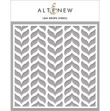 Altenew Stencil 6X6 - Leaf Drops