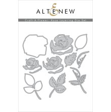 Altenew Die Set Craft A Flower - Rose