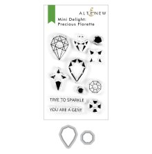 Altenew Mini Delight Stamp & Die Set - Precious Florette