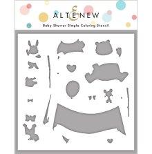 Altenew Stencil 6X6 - Baby Shower