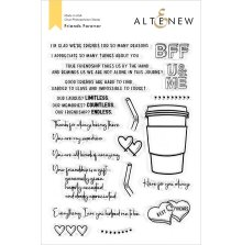 Altenew Clear Stamps 6X8 - Friends Forever