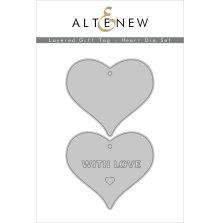 Altenew Die Set - Layered Gift Tag Heart