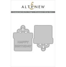 Altenew Die Set - Layered Gift Tag Present