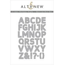 Altenew Die Set - Linear Pathway Alpha Outline
