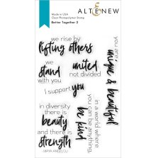 Altenew Clear Stamps 4X6 - Better Together 2