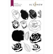 Altenew Clear Stamps 6X8 - Cartoon Rose