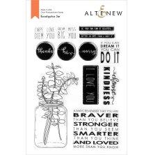 Altenew Clear Stamps 6X8 - Eucalyptus Jar