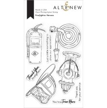 Altenew Clear Stamps 4X6 - Firefighter Heroes