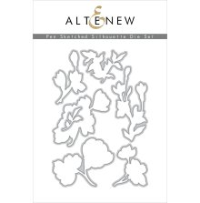 Altenew Die Set - Pen Sketched Silhouette